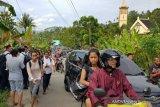 Teriak 'tsunami' saat gempa Ambon, seorang warga diamankan