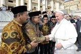 GP Ansor sampaikan Deklarasi Islam untuk Kemanusiaan kepada Paus