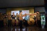 Sri Purnomo membuka Wonderful Indonesia Culinary and Shopping Festival