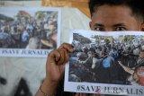 Aksi solidaritas wartawan