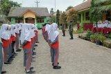 TMMD, Kodim Cilacap ajarkan kedisiplinan ke siswa