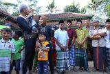 HUT ke-20 pernikahan, Ganjar-Atikoh bercengkerama dengan anak-anak panti asuhan