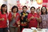 Dinas kesehatan provinsi promosi tanaman-kuliner sehat di Sulut Expo