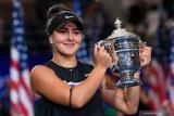 Andreescu tak akan pertahankan gelarnya di US Open