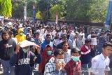 Ratusan pelajar SMA/SMK di Yogyakarta ikutI aksi #GejayanMemanggil2