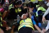 Mata tertembak aparat, jurnalis Indonesia Veby Mega Indah tuntut Hong Kong tanggung jawab