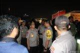 Kapolri dan Panglima TNI meninjau kondisi di DPR