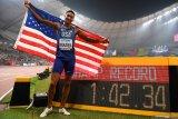 Donavan Brazier juara dunia 800 meter putra