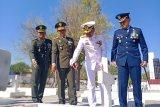 TNI gelar Ziarah dan tabur bunga di Dharma Loka Jelang HUT ke-74 TNI
