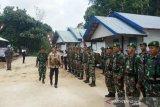 TMMD Barsel bangun infrastruktur Desa Bintang Ara-Malungai Raya
