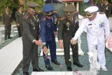 Jajaran TNI di Sulteng ziarah ke TMP Tatura Palu