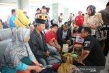 Penjabat Wali Kota Makassar sambut 55 pengungsi dari Wamena Papua