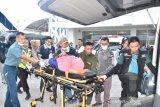 MQR Team Lantamal VI tangani pengungsi Wamena di Pelabuhan Makassar