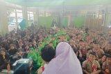 ACT Lampung berikan sosialisasi peduli kemanusiaan kepada pelajar.