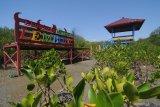 Suasana wisata edukasi hutan mangrove dalam tahap penyelesaian di Pantai Lembung, Pamekasan, Jawa Timur, Minggu (6/10/2019). Kawasan tersebut nantinya direncanakan menjadi destinasi wisata edukasi hutan mangrove terlengkap dan terbesar di Madura Antara Jatim/Saiful Bahri/zk.