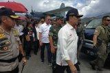 Menko Polhukam dan rombongan tiba di Wamena