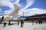 Normal, arus penumpang penerbangan Wings Air di Baubau