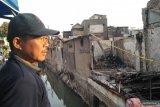 Dalam waktu 15 menit, puluhan rumah di Taman Sari hangus terbakar