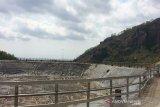Embung Nglanggeran Gunung Kidul mengering akibat kemarau