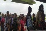 650 pengungsi dari Wamena pulang kampung gunakan KM Sinabung