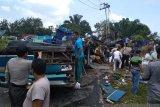 Polisi duga rem blong penyebab kecelakaan maut di Kuansing Riau