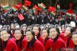 Presiden China Jinping mendarat di India di tengah protes Tibet