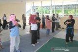 Perempuan korban gempa di Palu belajar ilmu bela diri