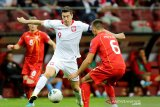 Polandia lolos ke putaran final usai bungkam Makedonia Utara