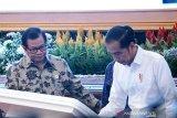 Konferensi video Presiden-Wagub NTT saat peresmian Palapa Ring