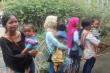 TMMD, anak Desa Cilibang terima imunisasi