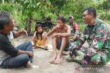 Pajurit TNI bersinergi dengan masyarakat sasaran TMMD memajukan desa