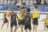 Tim voli pantai Indonesia  maju ke semifinal usai kalahkan Australia