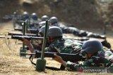 Latihan gabungan pasukan TNI