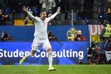 Gol Rodrigo antar Spanyol lolos ke putaran final tahun depan