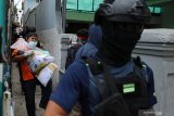 Terduga teroris di Bandung kerja sebagai driver ojol
