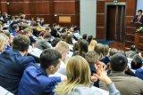 Mantan Menlu RI Hassan Wirajuda beri ceramah di Universitas MGIMO di Moskow