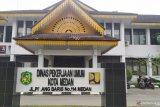 KPK geledah kantor walkot dan Dinas PU Medan