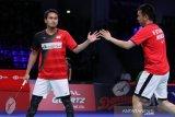 Ahsan/Hendra menang usai bertarung sengit dengan pemain China Ou/Zhang