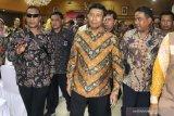 Wiranto sambangi Kemenko Polhukam terkait persiapan ganti kabinet