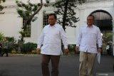 Prabowo Subianto bakal jadi menteri bidang pertahanan di kabinet Jokowi