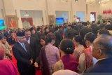 Istana Negara penuh sesak saat  pelantikan para menteri