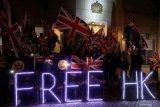 Inggris berencana tawarkan status kewarganegaraan kepada warga Hong Kong