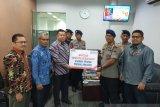 BNI Wilayah Padang bantu korban kebakaran Asrama Brimob Padangpanjang