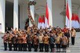 Presiden umumkan nama-nama menteri Kabinet Indonesia Maju