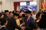 Jokowi ditinggal Projo setelah pengumuman Kabinet Indonesia Maju