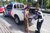 Polisi Jayapura tertibkan berlalu lintas melalui operasi zebra