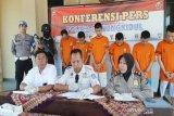 Polres Gunung Kidul menangkap tujuh tersangka pengedar narkoba