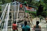 Pembangunan kantor tiga pilar program TMMD hampir rampung