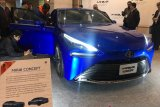 Mobil hidrogen Toyota Mirai baru curi perhatian di Tokyo Motor Show