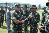 Pangdam  Xlll Merdeka lepas 209 prajurit Satgas Pamputer